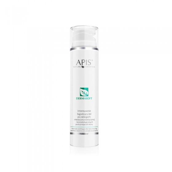 APIS Dermasoft Intensywnie łagodzący żel po zabiegach podrażniających skórę 200ml