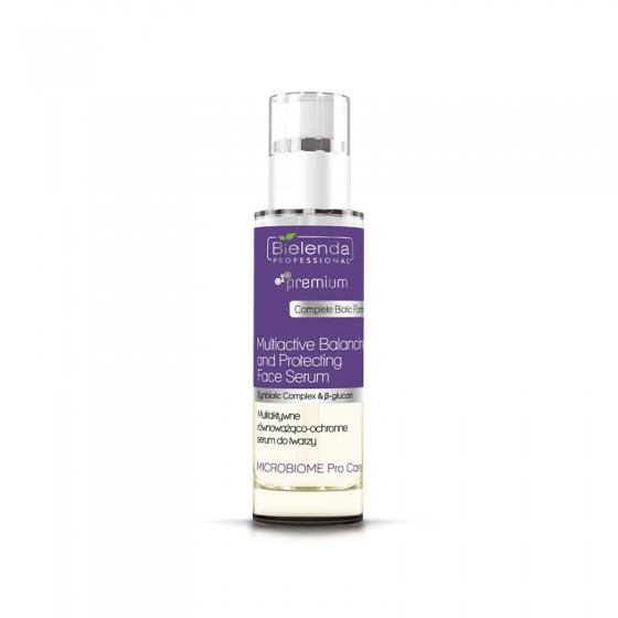 BIELENDA MICROBIOME Pro Care Równoważąco-ochronne serum multiaktywne do twarzy 30 ml