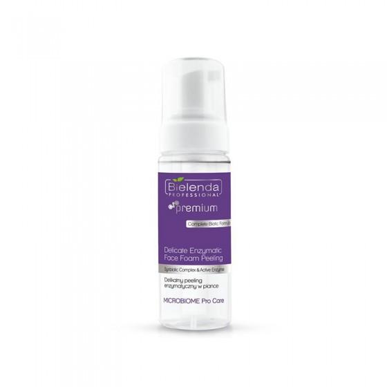 BIELENDA MICROBIOME Pro Care Delikatny peeling enzymatyczny w piance 160 ml