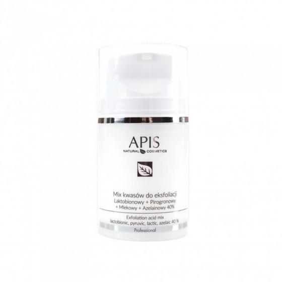 APIS Mix kwasów 40 % lakto. + proro. + mlek. + azel, 50ml
