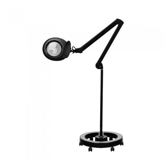 LAMPA LUPA ELEGANTE 6025 60 LED SMD 5D BLACK ZE STATYWEM