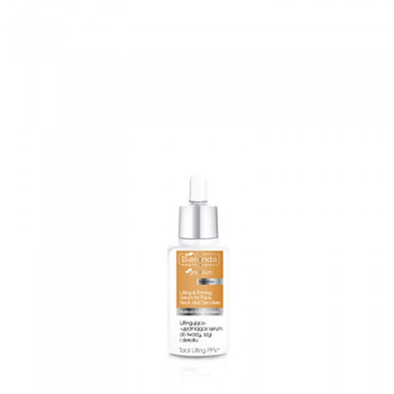 BIELENDA TOTAL Lifting PPV Liftingująco - ujędrniające serum do twarzy, szyi i dekoltu 30 ml