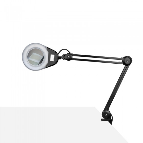LAMPA LUPA LED ECO CZARNA DO BLATU