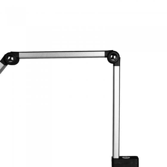 LAMPA LED NA BIURKO TD-003 SREBRNA