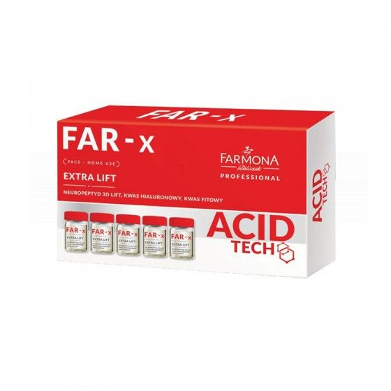 FARMONA FAR-X Aktywny koncentrat mocno liftingujący - home use 5x5 ml