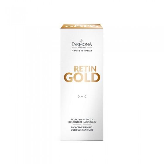 FARMONA RETIN GOLD Bioaktywny złoty koncentrat napinający 30 ml
