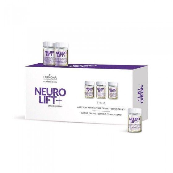 FARMONA NEURO LIFT+ Aktywny koncentrat dermo-liftingujący 10x5 ml