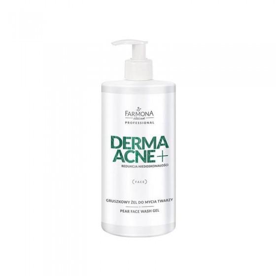 FARMONA DERMAACNE + Gruszkowy żel do mycia twarzy 500 ml