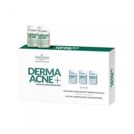 FARMONA DERMAACNE+ Aktywny koncentrat normalizujący 5x5 ml