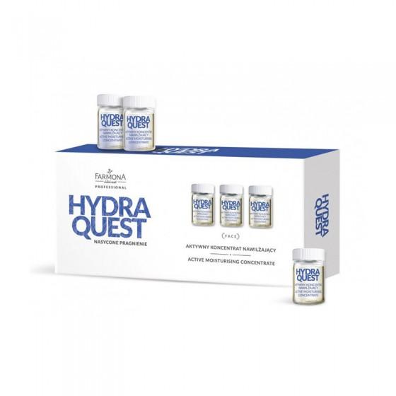 FARMONA HYDRA QUEST Aktywny koncentrat nawilżający 10x5 ml