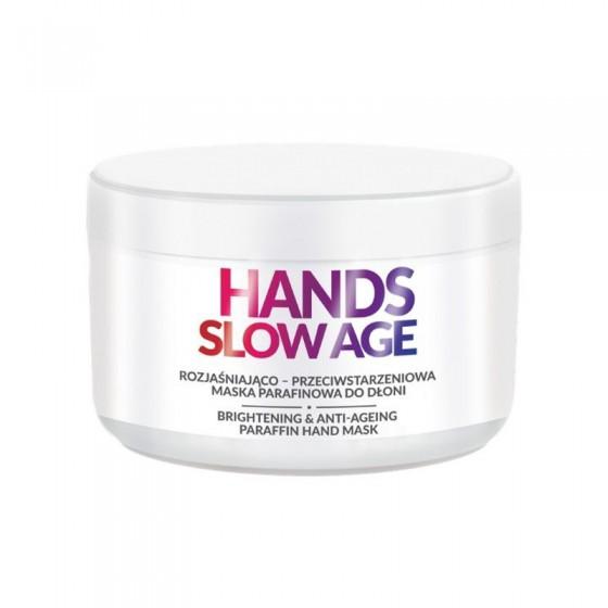 FARMONA HANDS SLOW AGE Rozjaśniająco-przeciwstarzeniowa maska parafinowa do dłoni 300 ml