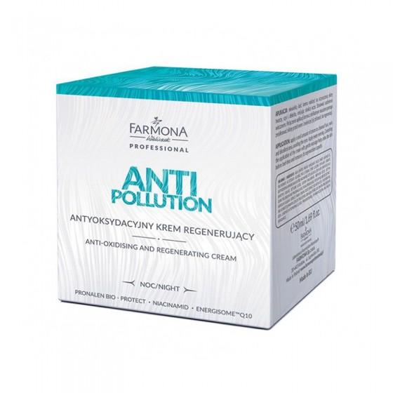 FARMONA ANTI POLLUTION Antyoksydacyjny krem regenerujący na noc 50 ml