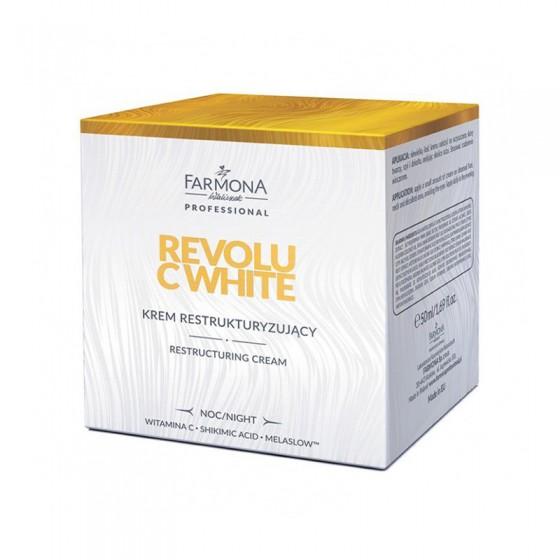 FARMONA REVOLU C WHITE Krem restrukturyzujący na noc 50 ml
