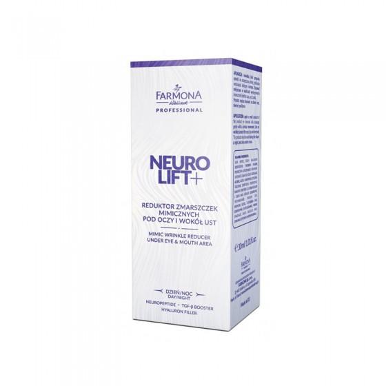 FARMONA NEUROLIFT+ Reduktor zmarszczek mimicznych pod oczy i wokół ust na dzień i na noc 30 ml