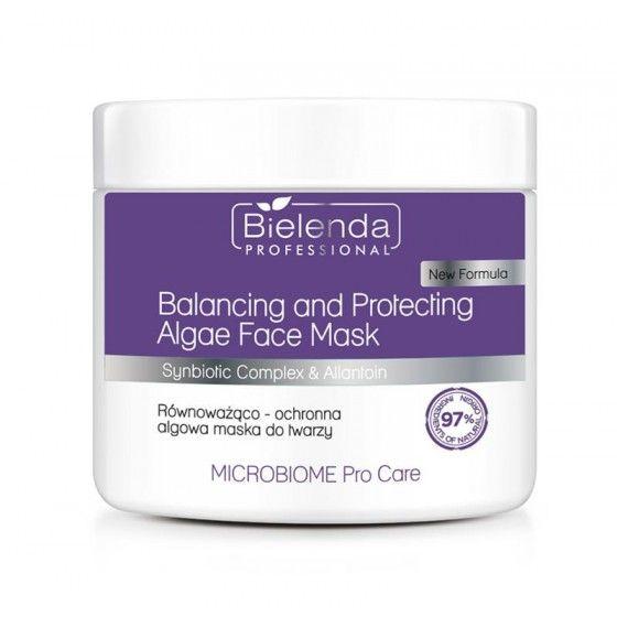 BIELENDA MICROBIOME Pro Care Równoważąco-ochronna algowa maska do twarzy 160 g