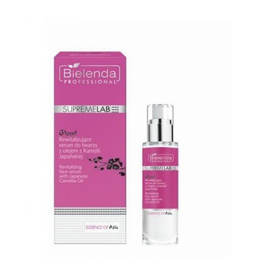 BIELENDA SUPREMELAB Essence of Asia GLOW! Rewitalizujące serum do twarzy z olejem z Kamelii Japońskiej 30 ml
