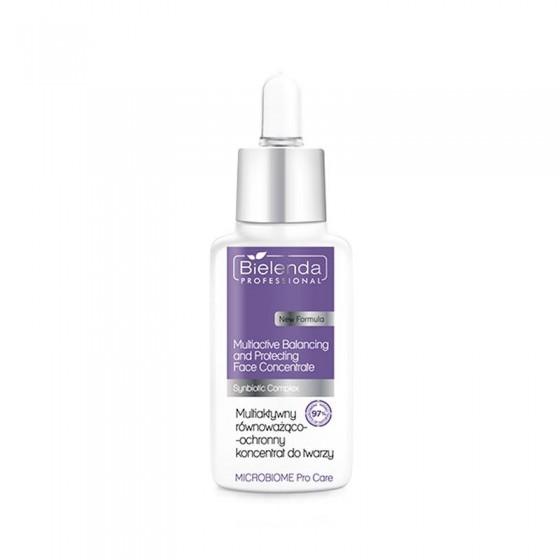 BIELENDA MICROBIOME Pro Care Multiaktywny równoważąco-ochronny koncentrat do twarzy 30 ml