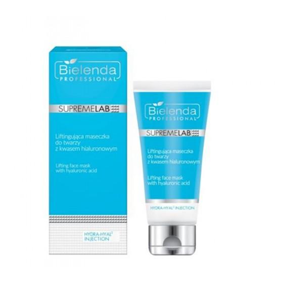 BIELENDA SUPREMELAB Hydra-Hyal2 Injection Liftingująca maseczka do twarzy z kwasem hialuronowym 70 ml