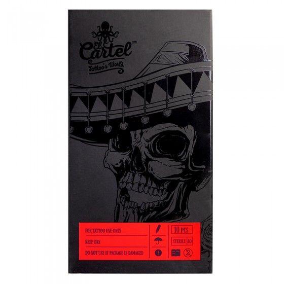 Igły Kartridże do tatuażu El Cartel 0.35mm 3RS Shader 10 szt.