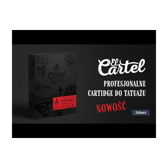 Igły Kartridże do tatuażu El Cartel 0.35mm 9RS Shader 10 szt.