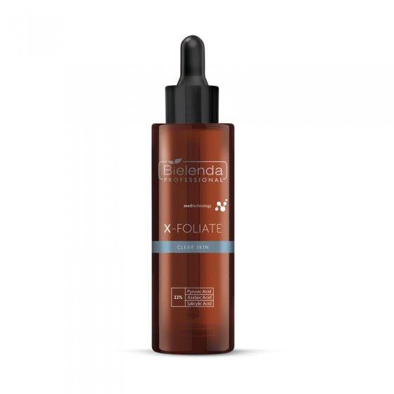 BIELENDA X – FOLIATE Clear Skin - Formuła do skóry trądzikowej 30 ml