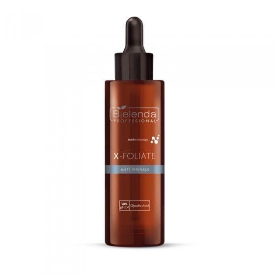 BIELENDA X – FOLIATE Anti Wrinkle - Formuła do skóry dojrzałej 30 ml